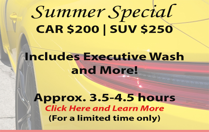 Pacific Detail Services, Mobile, Auto Detail, Summer Special